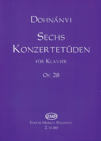 Product Cover for 6 Concert Etudes, Op.28 – Volume 1