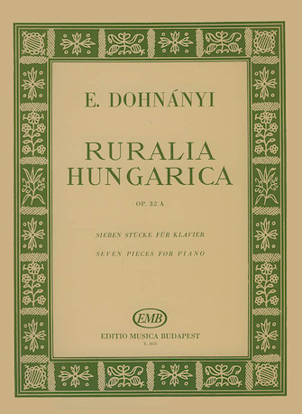 Product Cover for Ruralia Hungarica Op.32a