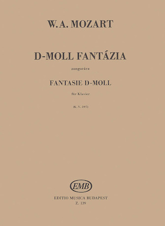 Product Cover for Fantasy in D Minor, K397