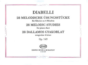 Product Cover for 28 Melodic Exercises Op. 149