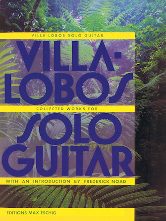 Product Cover for Villa-Lobos – Collected Works for Solo Guitar