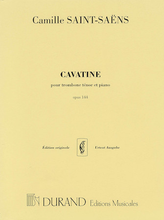 Product Cover for Cavatine, Op. 144