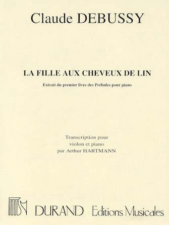Product Cover for La fille aux cheveux de lin (The Girl with the Flaxen Hair)