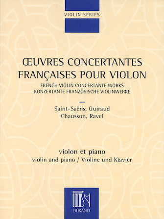 Product Cover for French Violin Concertante Works