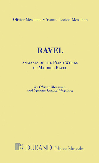 Product Cover for Analyses of the Piano Works of Maurice Ravel