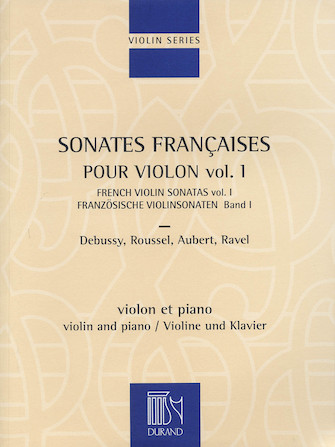 Product Cover for French Violin Sonatas – Volume 1