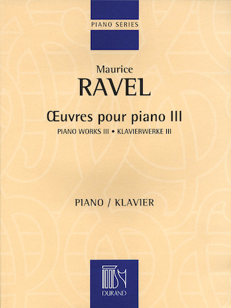 Product Cover for Piano Works III