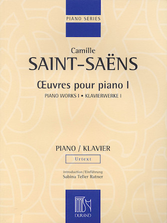 Product Cover for Piano Works Volume I