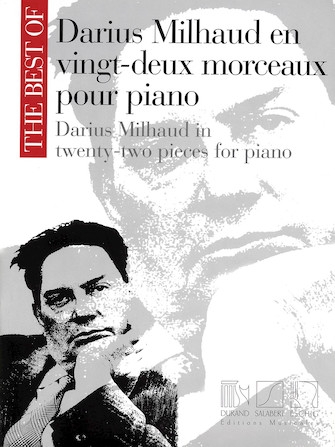 Product Cover for The Best of Darius Milhaud in Twenty-Two Pieces for Piano