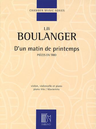 Product Cover for D'un Matin De Printemps
