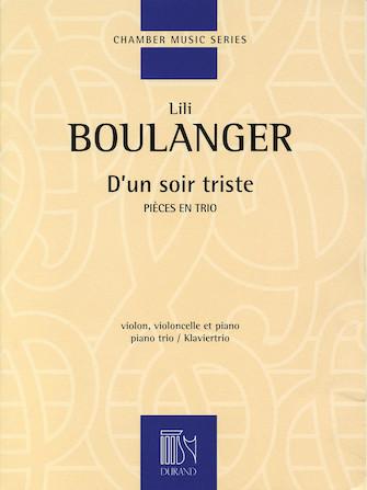 Product Cover for D'un soir triste