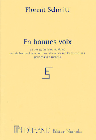 Product Cover for En bonnes voix