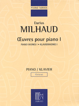 Product Cover for Piano Works – Volume I