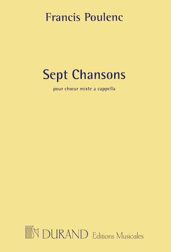 Product Cover for 7 Chansons