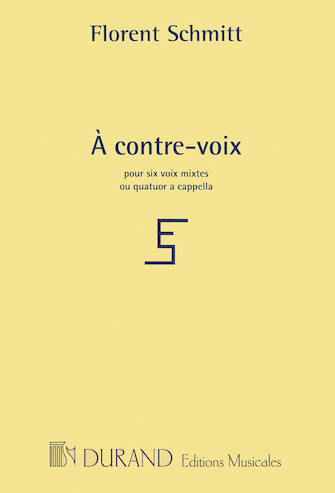 Product Cover for À contre-voix