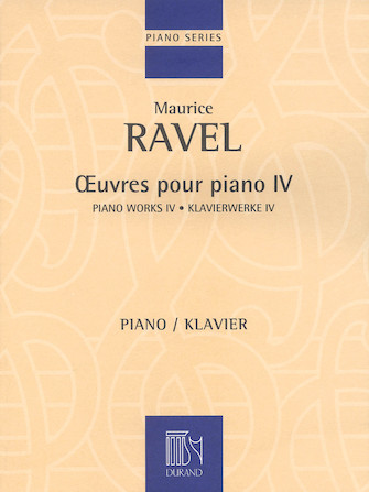 Product Cover for Piano Works – Volume IV