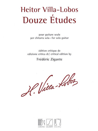 Product Cover for Heitor Villa-Lobos – 12 Études
