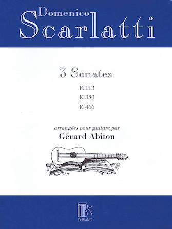 Product Cover for Domenico Scarlatti – Three Sonatas