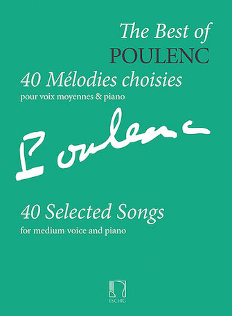 Product Cover for The Best of Poulenc – 40 Selected Songs