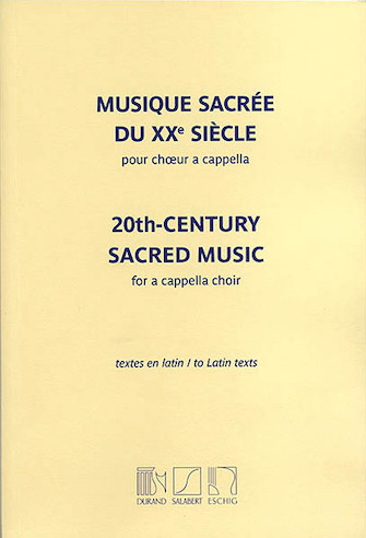 Product Cover for 20th Century Sacred Music