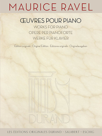 Product Cover for Maurice Ravel – Works for Piano