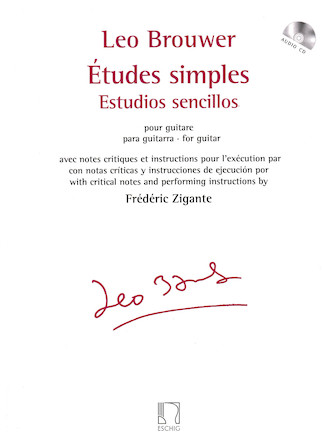 Product Cover for Études simples for Guitar