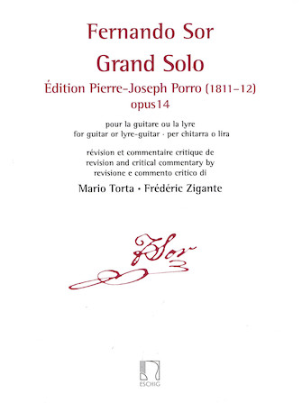 Product Cover for Grand Solo: Edition Pierre Porro (1811-12), Op. 14