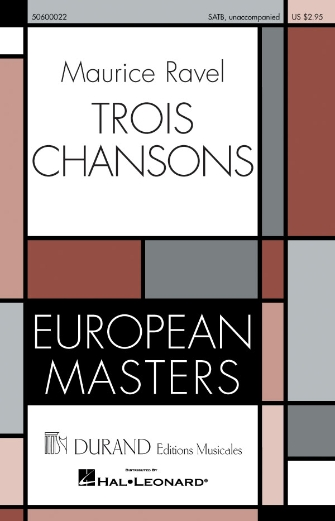 Product Cover for Trois Chansons