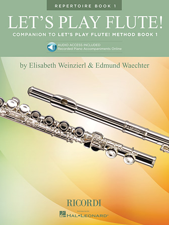 Product Cover for Let's Play Flute! – Repertoire Book 1