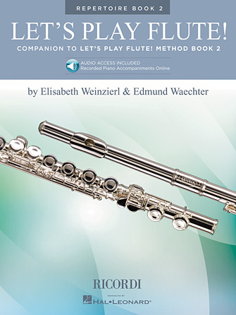 Product Cover for Let's Play Flute! – Repertoire Book 2