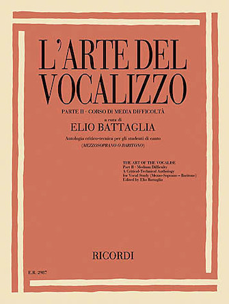 Product Cover for L'Arte Del Vocalizzo – Parte II: Corso di Media Difficoltà