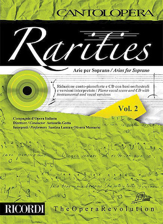 Product Cover for Rarities – Arias for Soprano, Volume 2