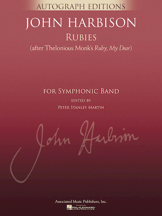 """Product Cover for Rubies (After Thelonious Monk's """"Ruby, My Dear"""")"""