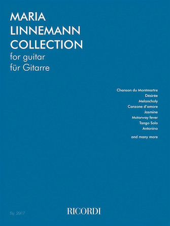 Product Cover for Maria Linnemann Collection for Guitar