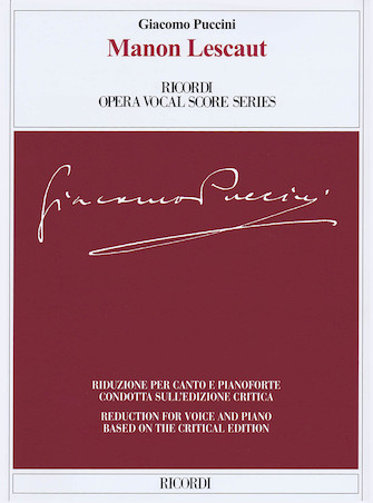 Product Cover for Manon Lescaut