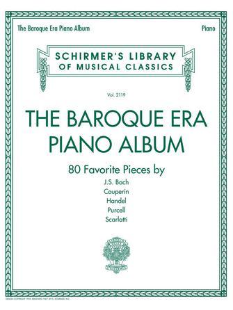 Product Cover for The Baroque Era Piano Album