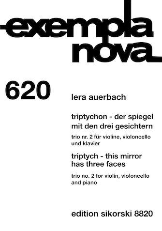 Product Cover for Triptych - This Mirror Has Three Faces: Trio No. 2