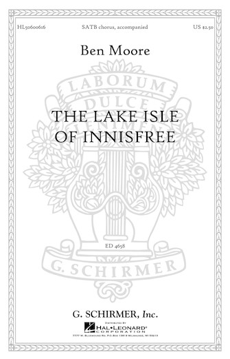 Product Cover for The Lake Isle of Innisfree