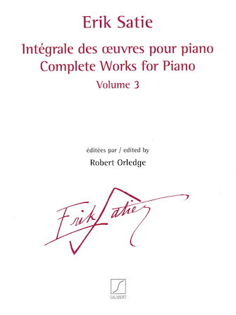 Product Cover for Complete Works for Piano – Volume 3
