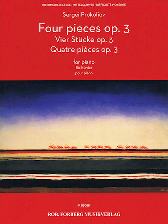 Product Cover for Four Pieces Op. 3