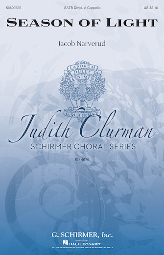 Season of Light : SATB : Judith Clurman : Sheet Music : 50600729 : 888680647926 : 1495076520
