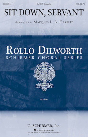 Sit Down, Servant : SATB : Rollo Dilworth : Sheet Music : 50600744 : 888680652395 : 1495079236
