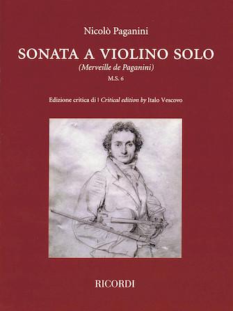 Product Cover for Sonata a Violino Solo