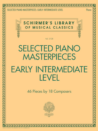 Selected Piano Masterpieces – Early Intermediate Level
