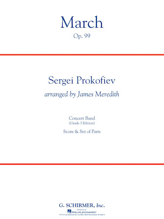 Product Cover for March, Op. 99