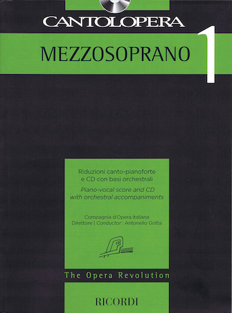 Product Cover for Cantolopera: Mezzo-Soprano 1