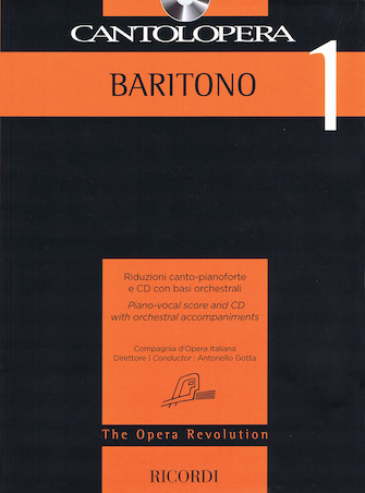 Product Cover for Cantolopera: Baritone 1