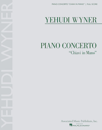"Product Cover for Piano Concerto ""Chiavi in Mano"""