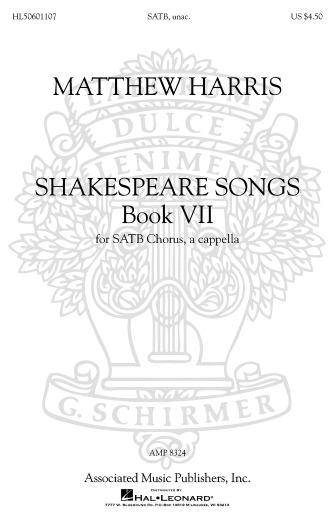 Product Cover for Shakespeare Songs, Book 7