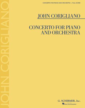 Corigliano: Concerto for Piano and Orchestra